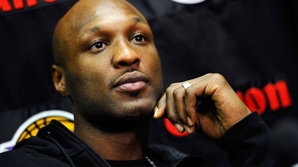 PHOTO: Lamar Odom of the Los Angeles Lakers