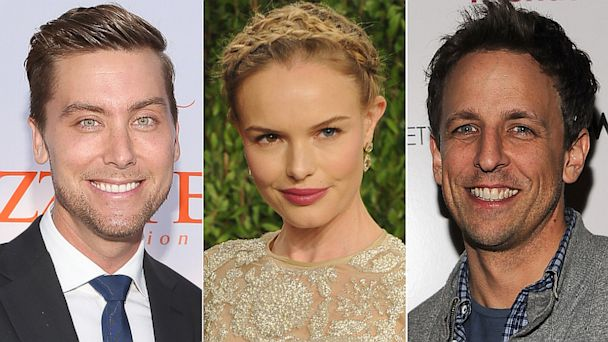 GTY lance bass kate bosworth seth myers jef 130902 16x9 608 Weekend Roundup: Seth Meyers Weds, Lance Bass is Engaged and More