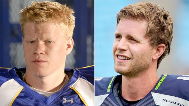 PHOTO: Landry Clarke in Friday Night Lights and Seattle Seahawks placekicker, Steven Hauschka.