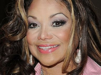 PHOTO: LaToya Jackson Shows Off Her 17.5 Carat Engagement Ring