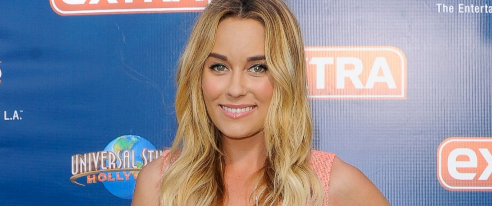 "PHOTO: Lauren Conrad visits ""Extra"" at Universal Studios Hollywood on June 9, 2014 in Universal City, Calif."