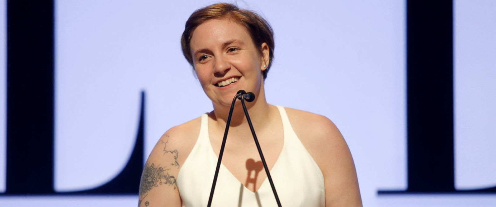 PHOTO: Lena Dunham speaks onstage during the 22nd Annual ELLE Women in Hollywood Awards, Oct. 19, 2015 in Beverly Hills, Calif.