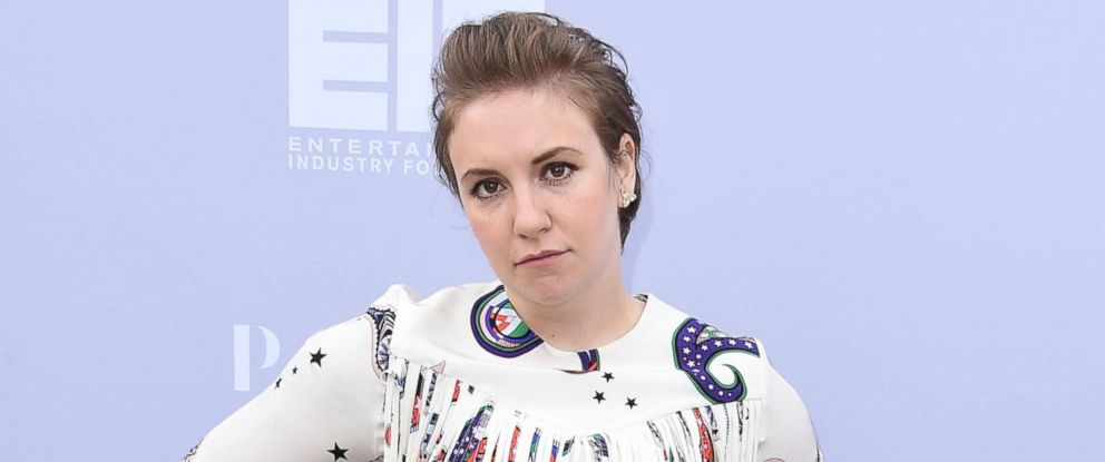 PHOTO: Lena Dunham arrives at the The Hollywood Reporters Annual Women In Entertainment Breakfast at Milk Studios, Dec. 9, 2015 in Los Angeles.