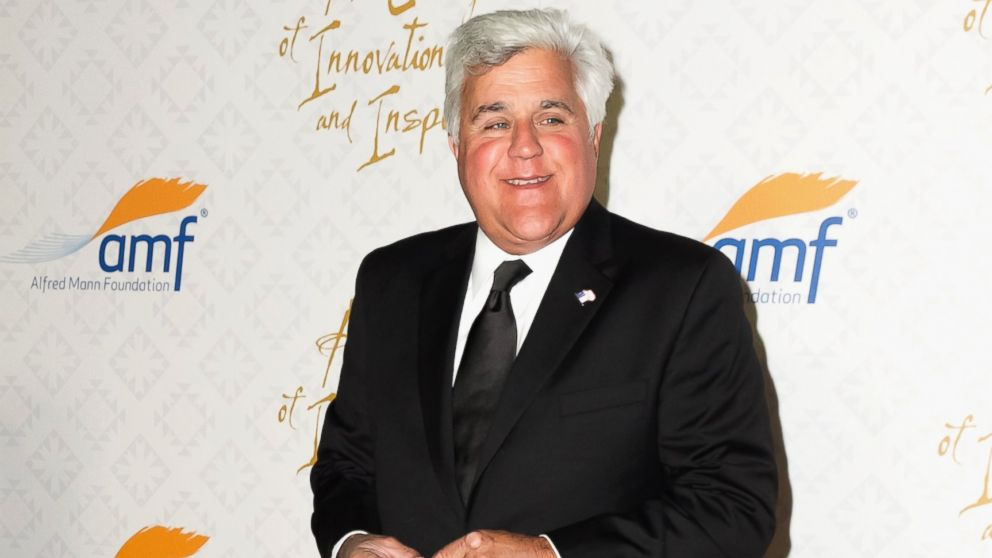 PHOTO: In this file photo, Jay Leno is pictured on Oct. 13, 2013 in Beverly Hills, Calif.