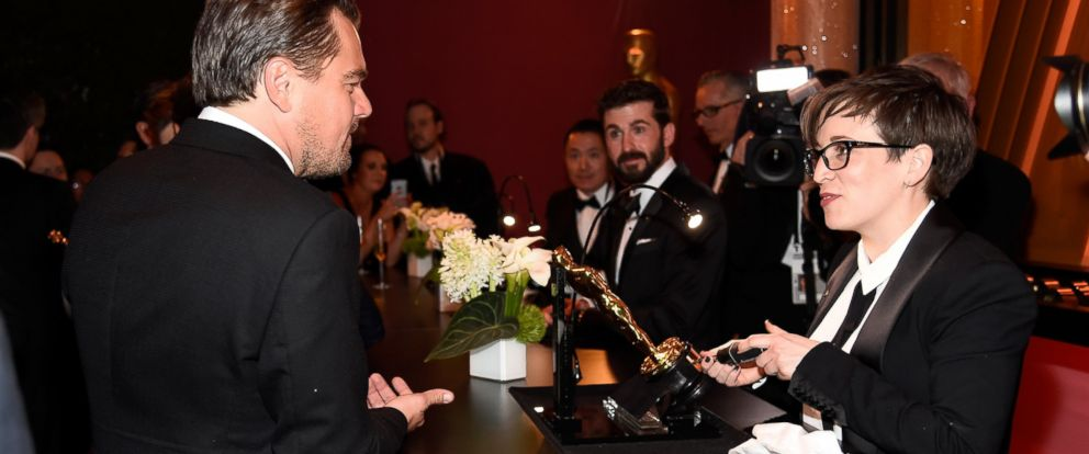 PHOTO: Leonardo DiCaprio, winner of Best Actor for The Revenant, attends the 88th Annual Academy Awards Governors Ball at Hollywood & Highland Center, Feb. 28, 2016 in Hollywood, California.