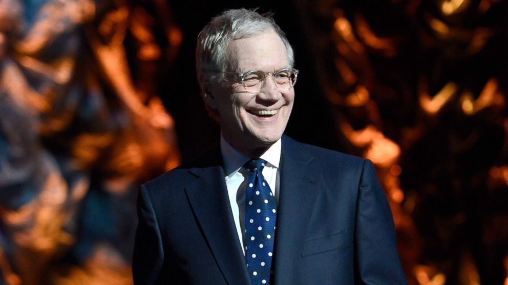 PHOTO: David Letterman is pictured on Jan. 31, 2014 in New York City.