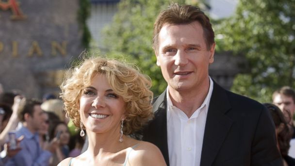 GTY liam neeson natasha mar 140221 16x9 608 Liam Neeson Talks about Losing Wife Natasha Richardson