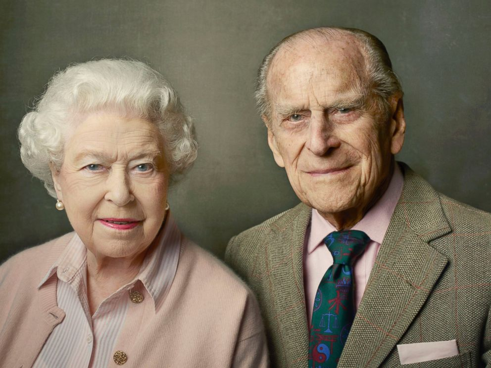 PHOTO: Queen Elizabeth II and Prince Philip, Duke of Edinburgh pictured at Windsor Castle just after Easter in 2016, in this photo taken by Annie Leibovitz.