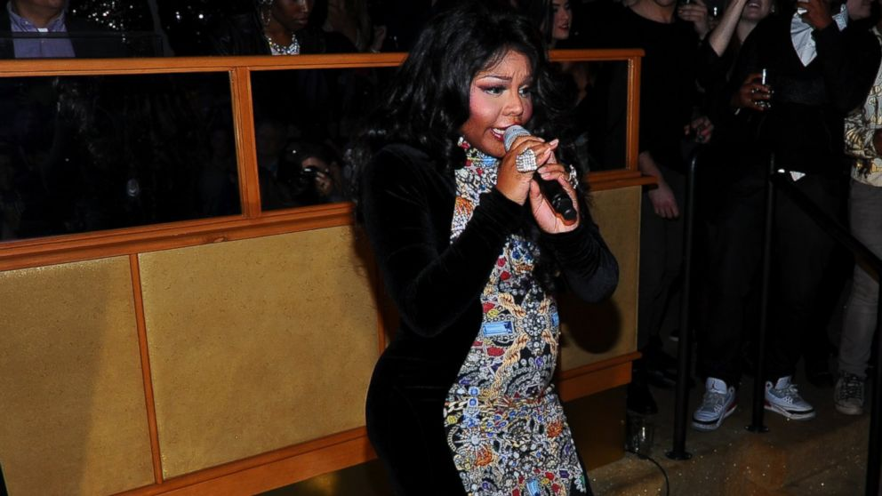 PHOTO: Lil Kim performs at The Blonds After Party - Fall 2014 Mercedes - Benz Fashion Week at Gilded Lily, Feb. 12, 2014 in New York.