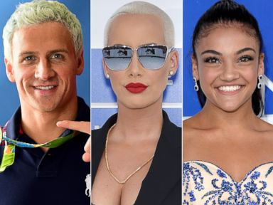 PHOTO: Ryan Lochte, Amber Rose and Laurie Hernandez are three of the stars set to compete on Season 23 of Dancing With the Stars.