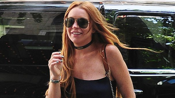 GTY lohan ml 130816 16x9 608 Lindsay Lohan Responds to White House Mean Girls Joke