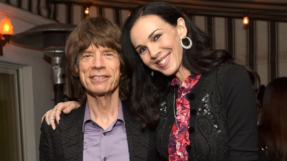 Lwren Scott Mick jagger and l'wren scott