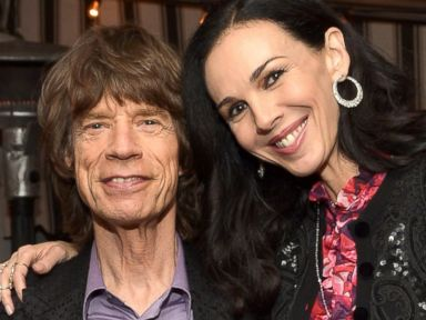 PHOTO: Mick Jagger and LWren Scott attend the launch celebration of the Banana Republic LWren Scott Collection hosted by Banana Republic, LWren Scott and Krista Smith at Chateau Marmont in Los Angeles, Nov. 19, 2013.