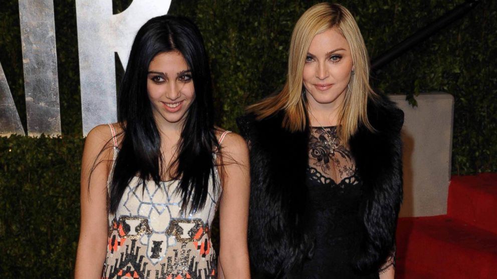 PHOTO: Madonna and daughter Lourdes Leon arrive at the Vanity Fair Dinner and After Party at the Sunset Tower Hotel celebrating the 83rd Academy Awards in West Hollywood, Calif. in this file photo, Feb. 27, 2011.