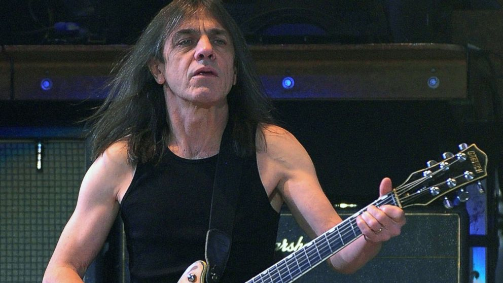 PHOTO: Malcolm Young of AC/DC performs at Datch Forum in Milan, Italy, March 19, 2009.