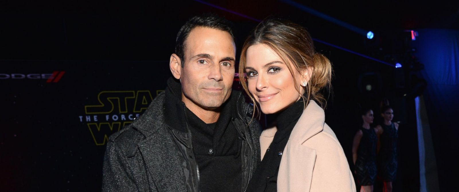 "PHOTO: Keven Undergaro and Maria Menounos arrive at the premiere of Walt Disney Pictures and Lucasfilms ""Star Wars: The Force Awakens,"" Dec. 14, 2015 in Hollywood, Calif."