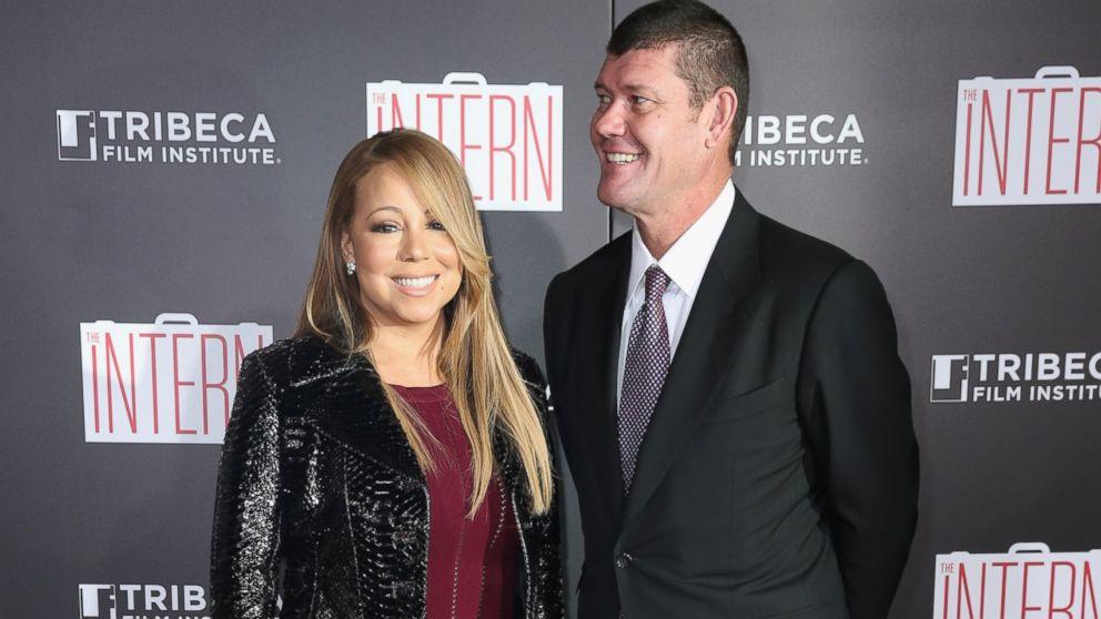 Mariah Carey and James Packer Mariah Carey