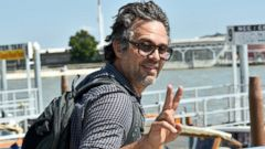 Mark Ruffalo Arrives in Venice