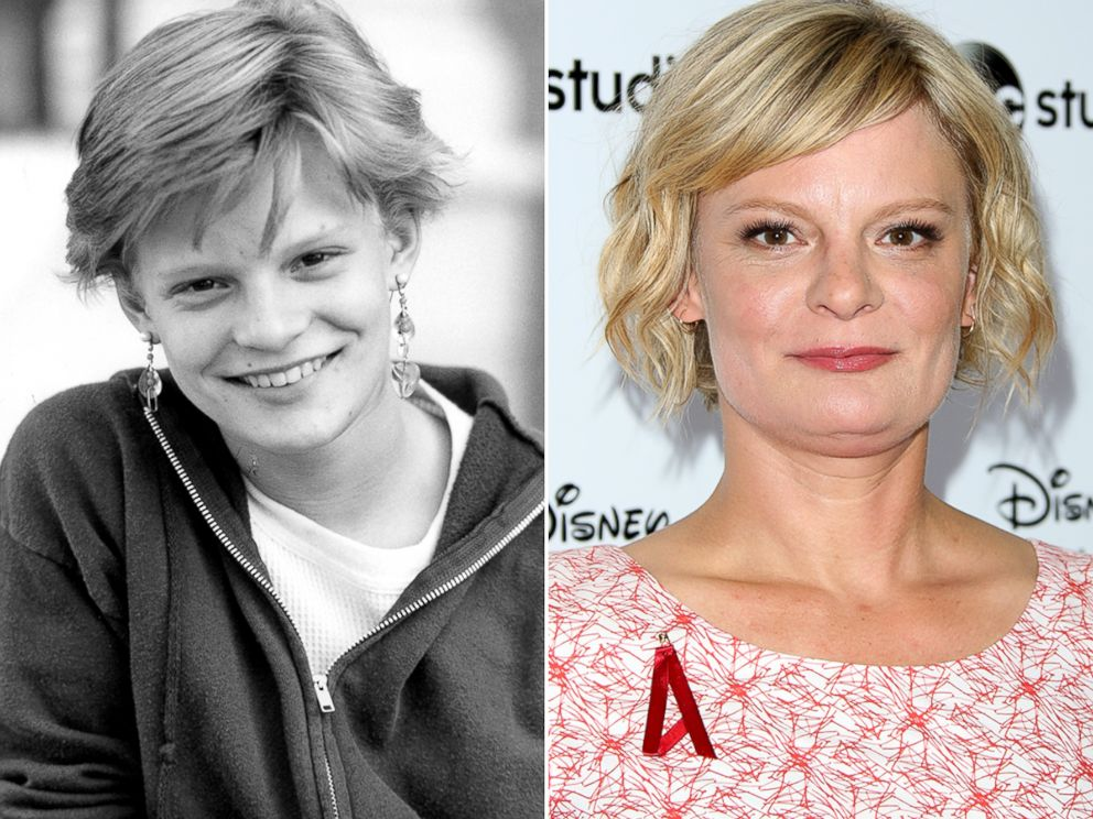 PHOTO: Martha Plimpton played Stef in the 1985 film, The Goonies.