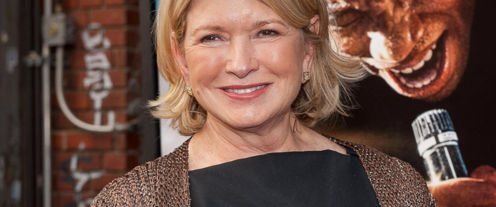 "PHOTO: Martha Stewart attends the ""Get On Up"" premiere at The Apollo Theater,July 21, 2014, in New York."