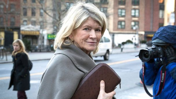 PHOTO: Martha Stewart enters federal court in New York, Jan. 24, 2012.
