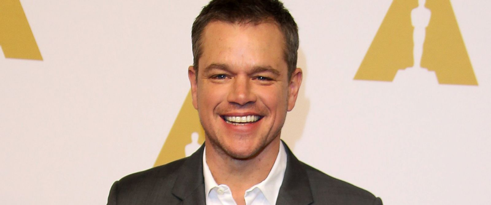 PHOTO: Matt Damon attends the 88th Annual Academy Awards Nominee Luncheon, Feb. 8, 2016, in Beverly Hills, Calif.