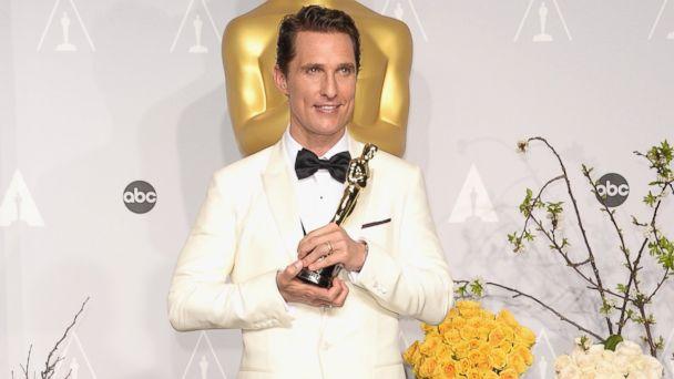 GTY matthew mcconaughey kab 140303 16x9 608 See Oscar Winner Matthew McConaugheys Prom Picture