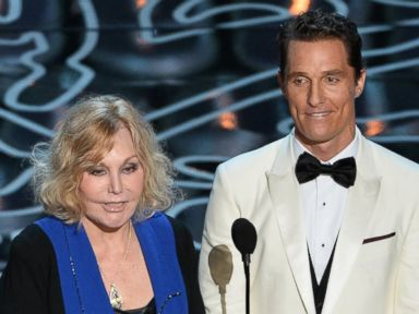 Who Was Matthew McConaughey's Co-Presenter at Oscars?