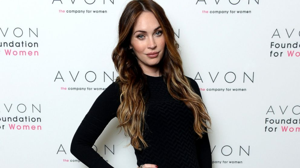 PHOTO: Megan Fox helped the Avon Foundation launch the #SeeTheSigns of Domestic Violence global social media campaign, Nov. 22, 2013, in New York.