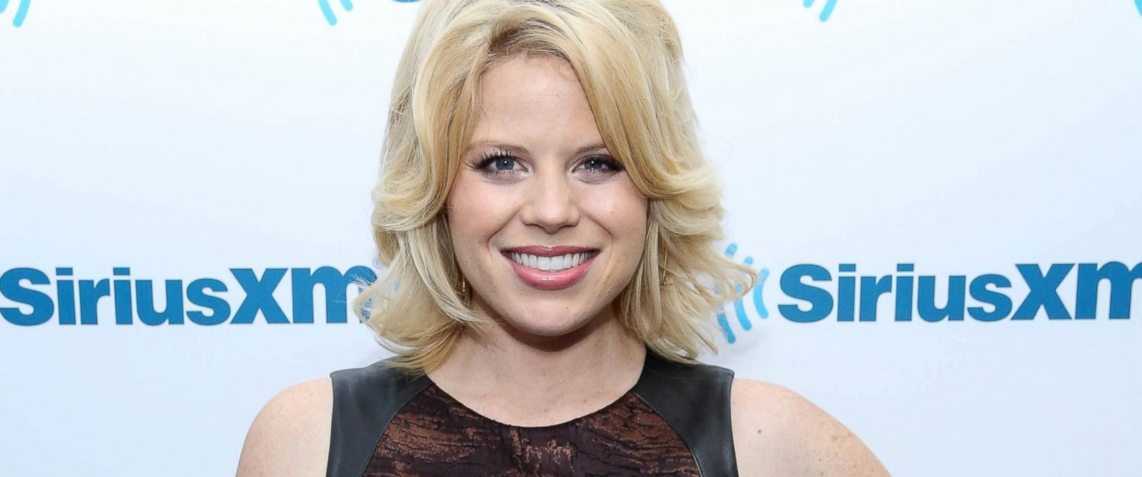 PHOTO: Megan Hilty visits at SiriusXM Studios, April 30, 2014, in New York City.