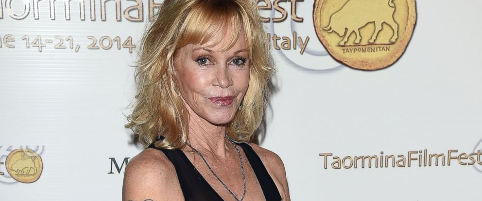 PHOTO: Melanie Griffith attends the 60th Taormina Film Fest, June 17, 2014 in Taormina, Italy.