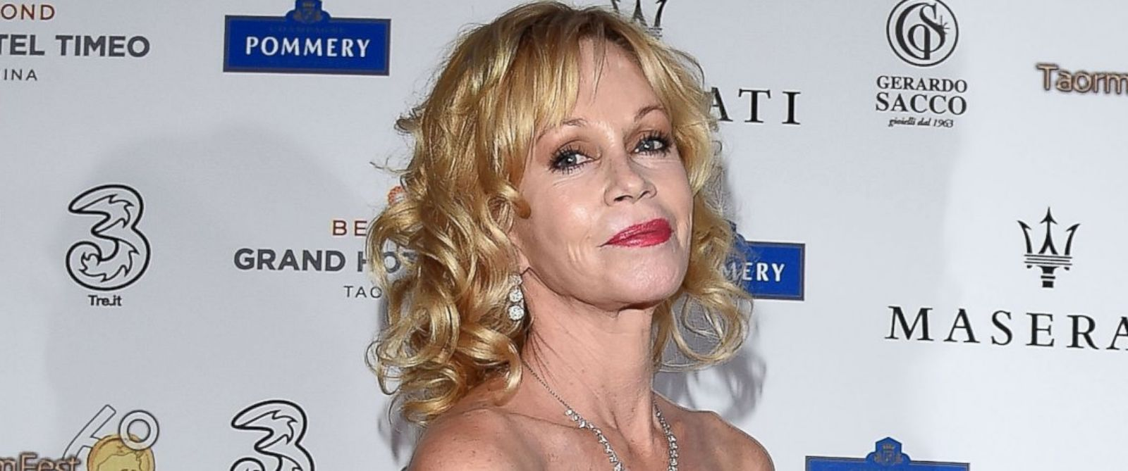 PHOTO: Melanie Griffith attends the 60th Taormina Film Fest on June 19, 2014 in Taormina, Italy.