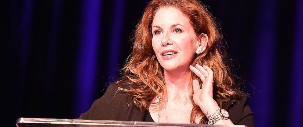 PHOTO: Melissa Gilbert speaks onstage at the Atlanta Ultimate Womens Expo at Georgia World Congress Center in Atlanta, May 3, 2015.