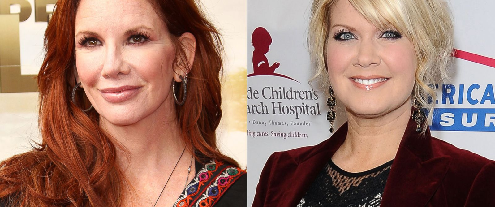 PHOTO: Melissa Gilbert and Natalie Grant