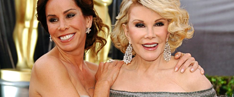 PHOTO: Melissa Rivers and Joan Rivers arrive at the 78th annual Academy Awards presented at the Kodak Theatre in Hollywood, Calif., March 5, 2006.