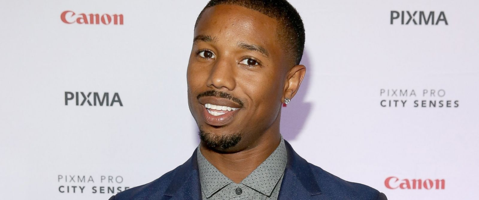 PHOTO: Michael B. Jordan hosts the Canon PIXMA PRO City Senses Galary at Austin Music Hall in Austin, Oct. 1, 2014.