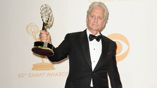 GTY michael douglas tk 130923 16x9 608 Michael Douglas Bemoans Plight of Convict Son in Emmys Speech