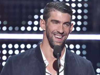 PHOTO: Michael Phelps presents onstage during the 2016 MTV Video Music Awards at Madison Square Garden, Aug. 28, 2016, in New York City.