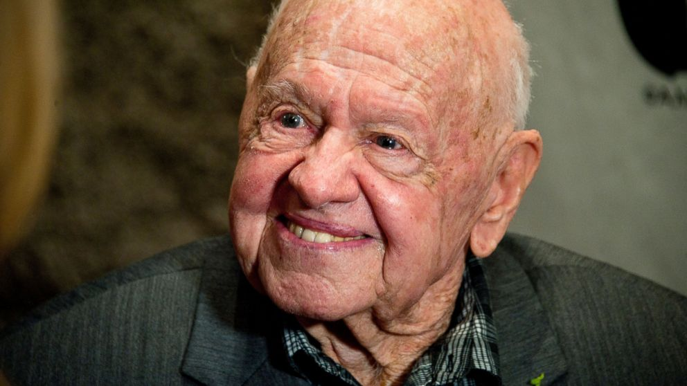 "PHOTO: Actor Mickey Rooney attends the AMPAS Presents The Last 70mm Film Festival Series - ""Its A Mad, Mad, Mad, Mad World"" cast & crew reunion at the Academy of Motion Picture Arts and Sciences, July 9, 2012 in Beverly Hills, Calif."
