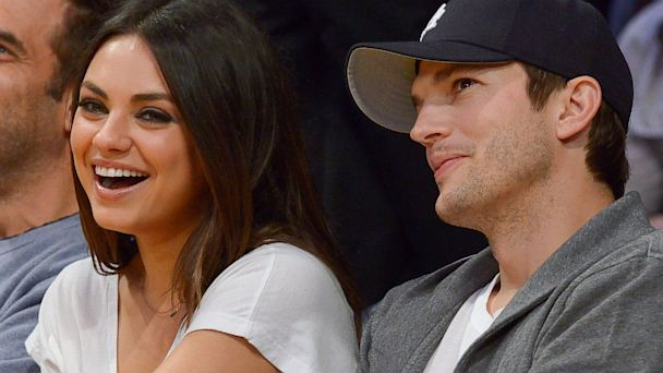 PHOTO: Mila Kunis and Ashton Kutcher
