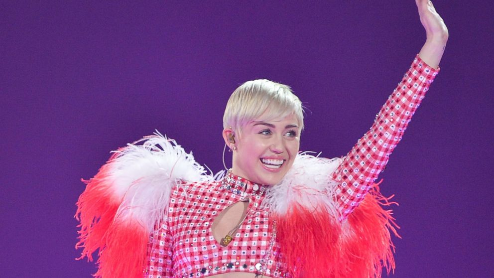 PHOTO: Miley Cyrus performs at Air Canada Centre in this March 31, 2014, file photo in Toronto, Canada.