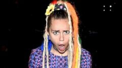 Miley Cyrus Preps for the MTV Video Music Awards
