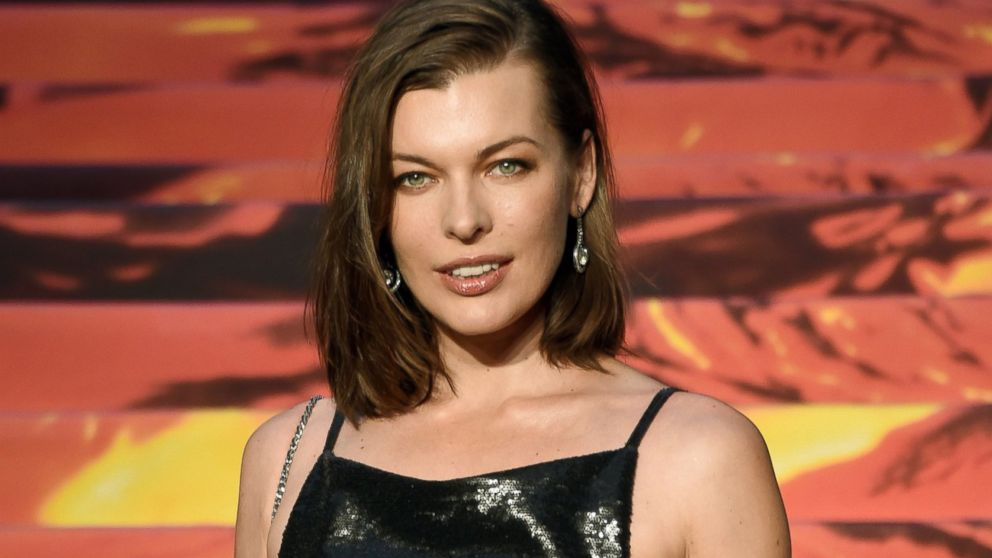 PHOTO: Milla Jovovich is pictured in Tokyo on May 26, 2014.