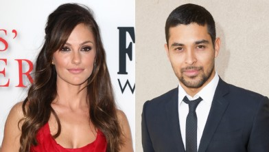 PHOTO: Minka Kelly and Wilmer Valderrama are seen in Los Angeles, Calif.