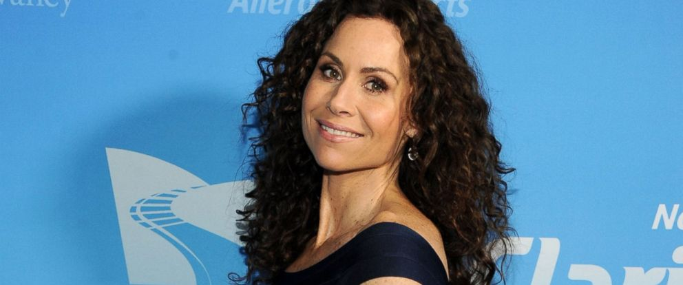 PHOTO: Minnie Driver is pictured on April 3, 2014 in New York City.