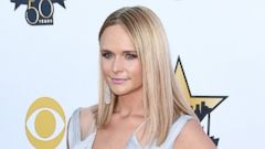 Miranda Lambert Shows Some Skin at the ACMs