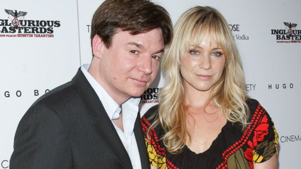 GTY myers tisdale jtm 131016 16x9 608 Mike Myers and Kelly Tisdale Expecting Second Child