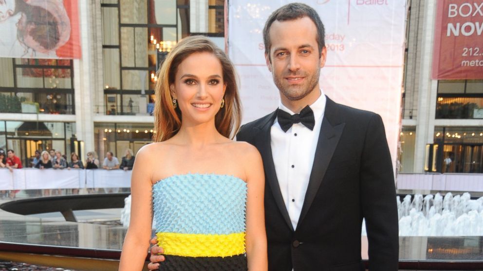 PHOTO: Natalie Portman and Benjamin Millepied attend New York City Ballet 2013 Fall Gala