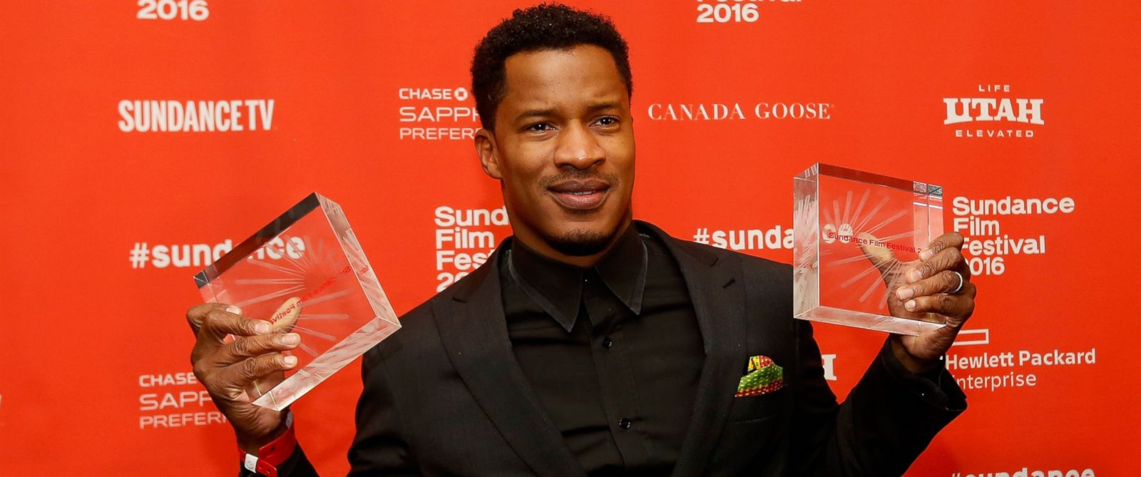 PHOTO: Director Nate Parker, poses at the Sundance Film Festival Awards Ceremony, Jan. 30, 2016 in Park City, Utah.