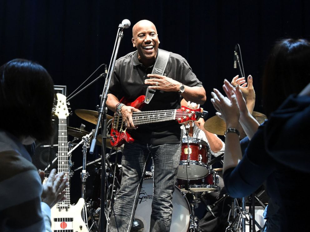 PHOTO: Bassist Nathan East performs on stage during the Nathan East Solo Debut Concert
